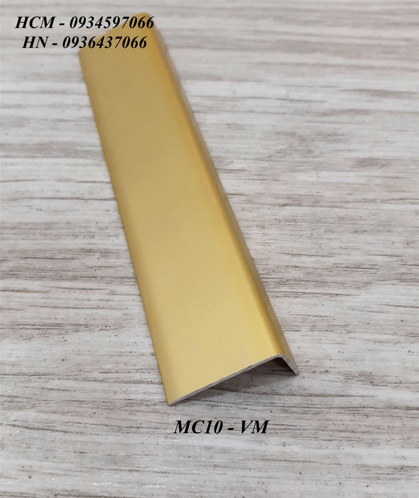 Nẹp nhôm kết thúc sàn MC10-Nẹp kết thúc sàn gỗ, nẹp sàn gỗ, nẹp L, nẹp chữ L kết thúc sàn