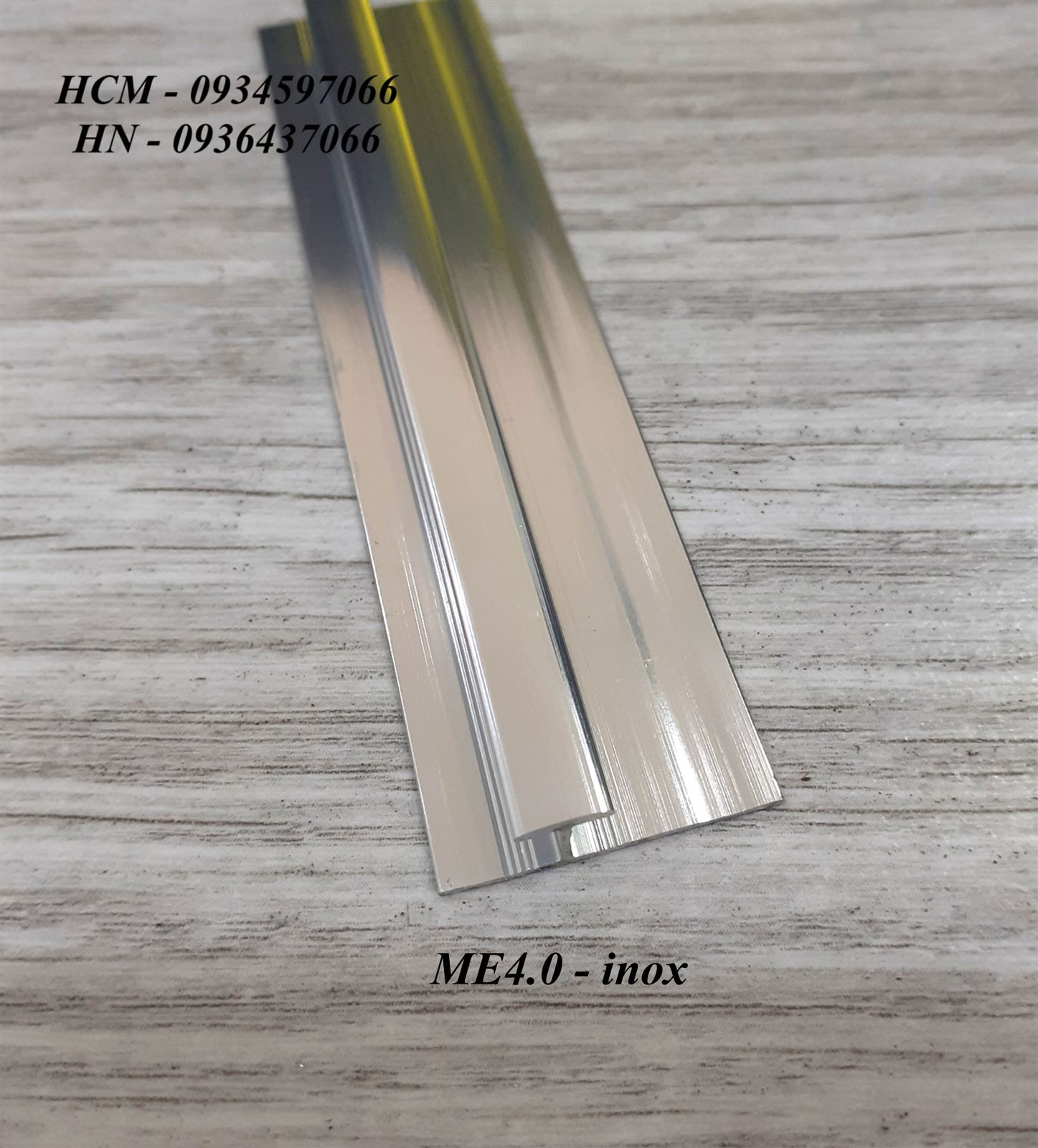 Nẹp nối sàn nhựa ME4.0