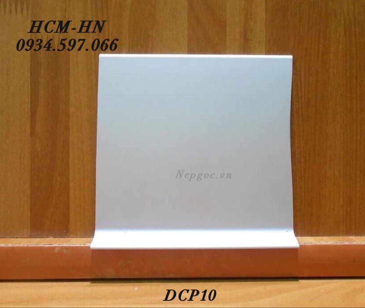 Nẹp len chân tường DCP10- phào chân tường DCP10